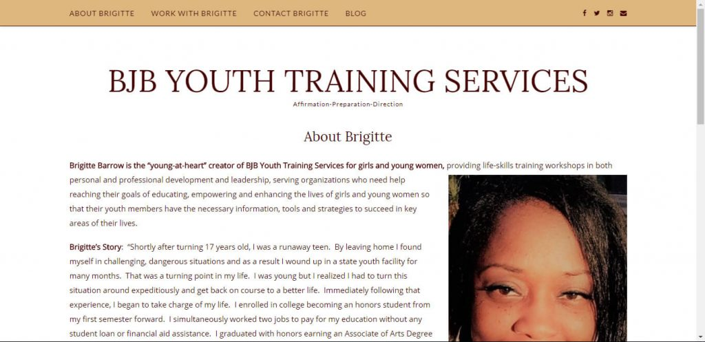 BJB YOUTH TRAINING SERVICES